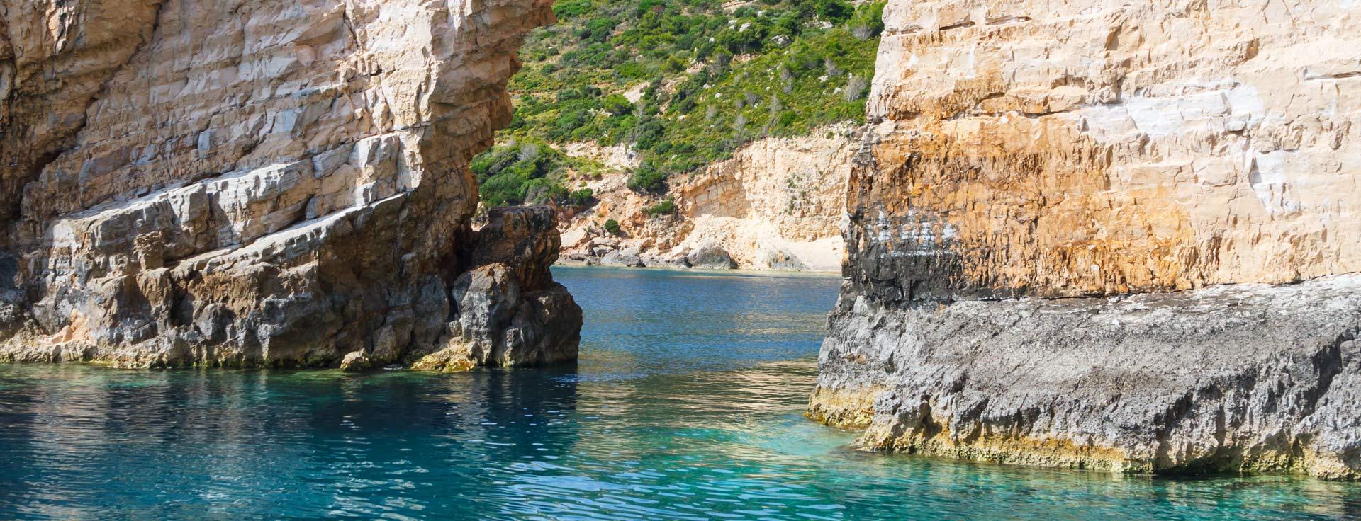 Keri Caves in Zakynthos.